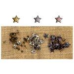 Prima - Finnabair Mechanicals - Vintage Trinkets - Brads - Stars