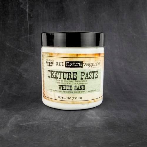Prima - Art Extravagance - Texture Paste - White Sand - 8.5 Ounces