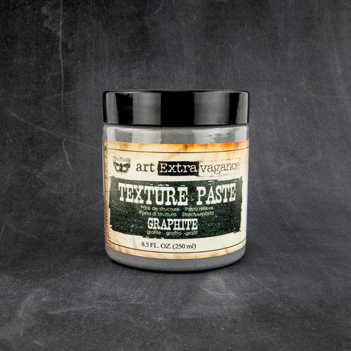 Prima - Art Extravagance - Texture Paste - Graphite - 8.5 Ounces
