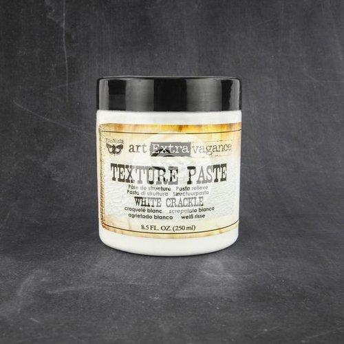 Prima - Art Extravagance - Texture Paste - White Crackle - 8.5 Ounces