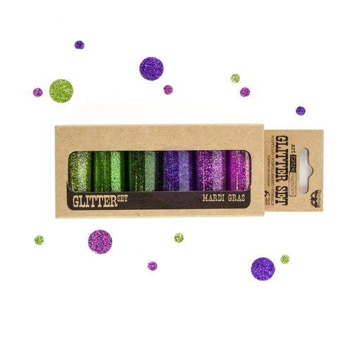 Prima - Finnabair - Art Extravagance - Glitter Set - Mardi Gras