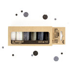 Prima - Finnabair - Art Extravagance - Glitter Set - Ebony and Ivory