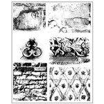 Prima - Cling Mounted Stamps - Dirty Walls