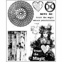 Prima - Finnabair - Cling Mounted Stamps - Trust the Magic
