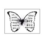 Prima - Wood Mounted Stamps - Butterfly One
