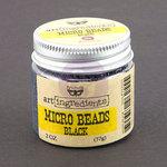 Prima - Finnabair - Art Ingredients - Micro Beads - Black
