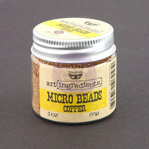 Prima - Finnabair - Art Ingredients - Micro Beads - Copper