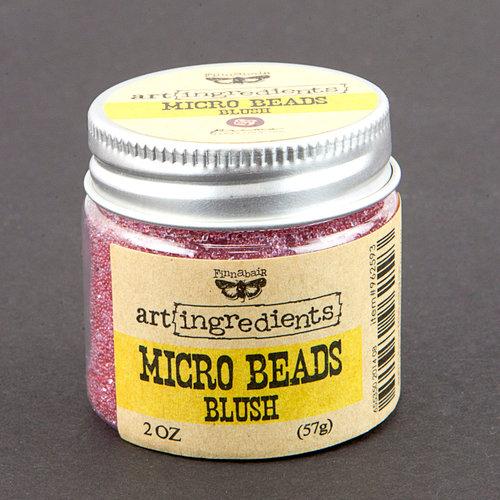 Prima - Finnabair - Art Ingredients - Micro Beads - Blush