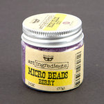 Prima - Finnabair - Art Ingredients - Micro Beads - Berry