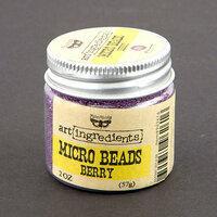 Prima - Finnabair - Art Ingredients - Micro Beads - Berry