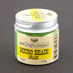 Prima - Finnabair - Art Ingredients - Micro Beads - Grass