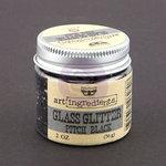 Prima - Finnabair - Art Ingredients - Glass Glitter - Pitch Black