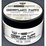 Prima - Finnabair - Art Extravagance - Snowflake Paste - 4 Ounces