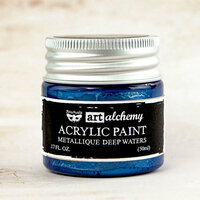 Prima - Finnabair - Art Alchemy - Acrylic Paint - Metallique - Deep Waters