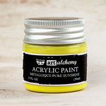 Prima - Finnabair - Art Alchemy - Acrylic Paint - Metallique - Pure Sunshine