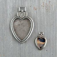Prima - Finnabair - Mechanicals - Heart Locket Pendants