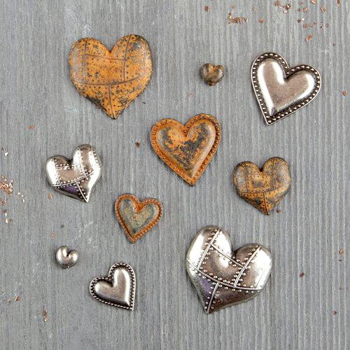 Prima - Finnabair - Mechanicals - Tin Hearts
