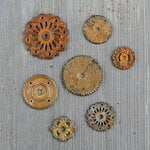 Prima - Finnabair - Mechanicals - Rustic Washers
