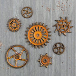 Prima - Finnabair - Mechanicals - Rusty Gears