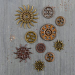 Prima - Finnabair - Mechanicals - Steampunk Gears
