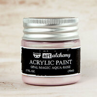 Prima - Finnabair - Art Alchemy - Acrylic Paint - Opal Magic - Aqua Rose