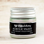 Prima - Finnabair - Art Alchemy - Acrylic Paint - Opal Magic - Violet Green