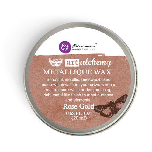 Prima - Finnabair - Art Alchemy - Metallique Wax - Rose Gold