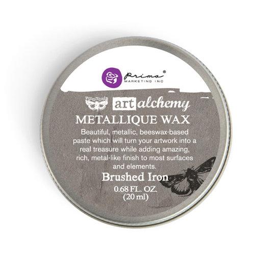 Prima - Finnabair - Art Alchemy - Metallique Wax - Brushed Iron