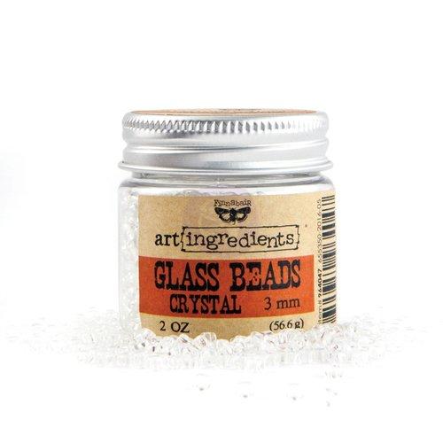 Prima - Finnabair - Art Ingredients - Glass Beads - 3mm