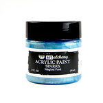 Prima - Finnabair - Art Alchemy - Sparks Acrylic Paint - Magical Pond