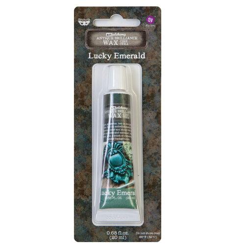 Prima - Finnabair - Art Alchemy - Antique Brilliance - Lucky Emerald