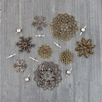 Prima - Finnabair - Mechanicals - Vintage Snowflakes
