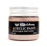 Prima - Finnabair - Art Alchemy - Acrylic Paint - Metallique - Soft Satin