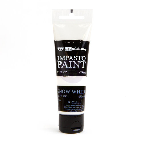 Prima - Finnabair - Art Alchemy - Impasto Paint - Snow White