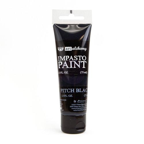 Prima - Finnabair - Art Alchemy - Impasto Paint - Pitch Black