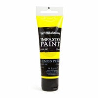 Prima - Finnabair - Art Alchemy - Impasto Paint - Lemon Peel