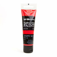 Prima - Finnabair - Art Alchemy - Impasto Paint - Poppy Red