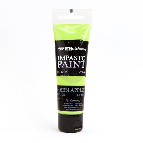 Prima - Finnabair - Art Alchemy - Impasto Paint - Green Apple