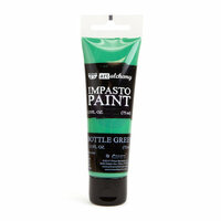 Prima - Finnabair - Art Alchemy - Impasto Paint - Bottle Green