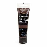 Prima - Finnabair - Art Alchemy - Impasto Paint - Dark Chocolate