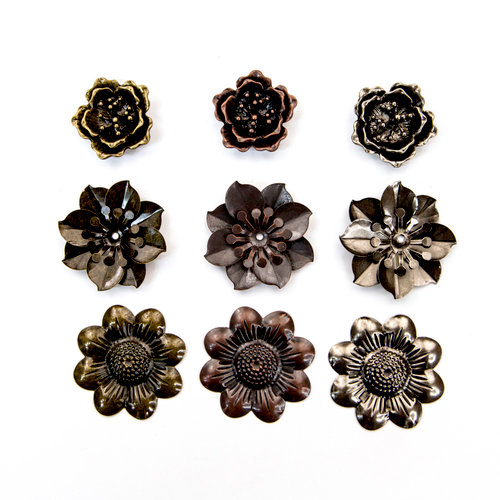 Prima - Finnabair - Mechanicals - Flowers