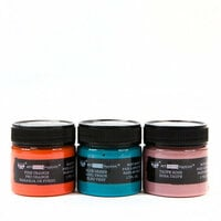 Prima - Finnabair - Art Extravagance - Texture Fantasy - Patina Paste - Anemone and Coral