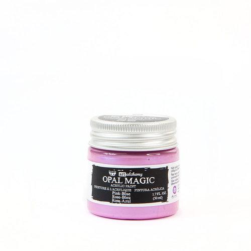 Prima - Finnabair - Art Alchemy - Acrylic Paint - Opal Magic - Pink Blue