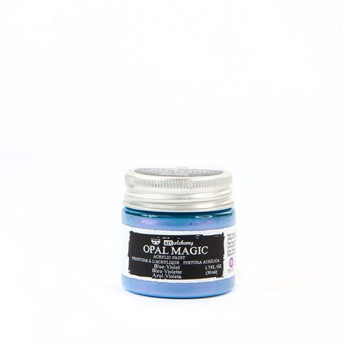 Prima - Finnabair - Art Alchemy - Acrylic Paint - Opal Magic - Blue Violet