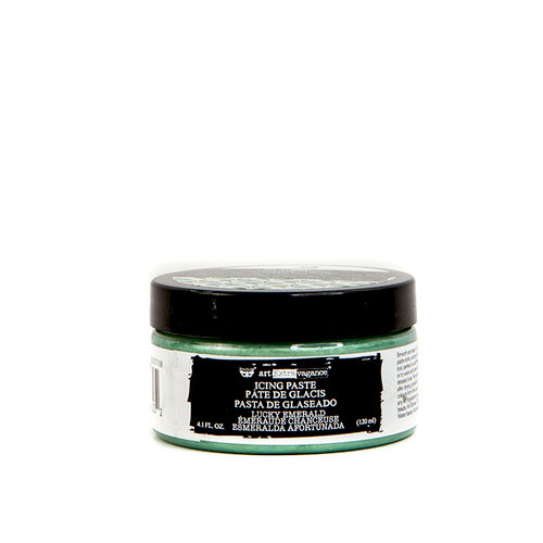 Prima - Finnabair - Art Extravagance - Icing Paste - Lucky Emerald