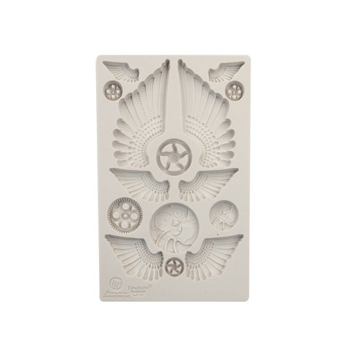 Prima - Finnabair - Silicone Mould - Cogs and Wings