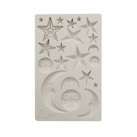 Prima - Finnabair - Silicone Mould - Star And Moons
