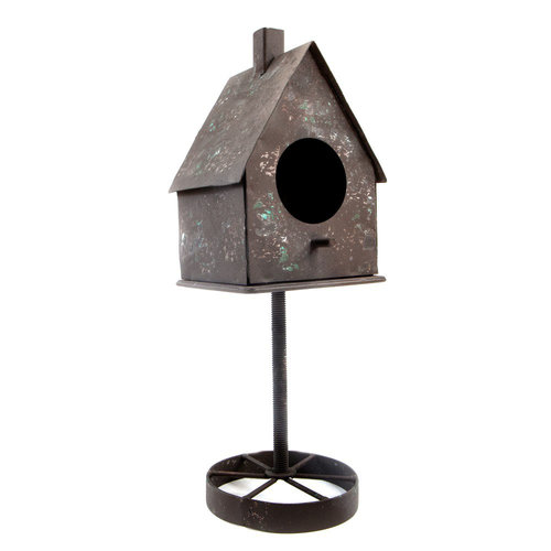Prima - Finnabair - Metal Frame - Rusty Birdhouse