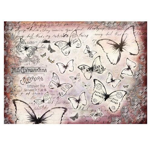 Prima - Finnabair - Tissue Paper Sheet - Flutter