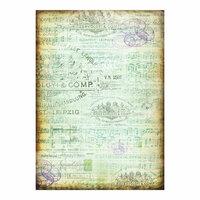 Prima - Finnabair - Tissue Paper Sheet - Musica